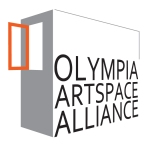 A logo for the Olympia Artspace alliance.