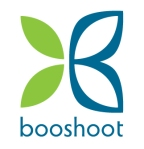 The new logo for my sister's biotech company, Booshoot.