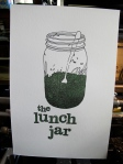 Just a fun project celebrating the ubiquitous and iconic lunch jar. Munch munch munch!