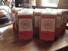 Ahhh... Holiday Blend sweetness for Olympia Coffee Roasting Co.