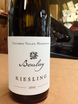 Boulay Wine Co. Riesling labels.