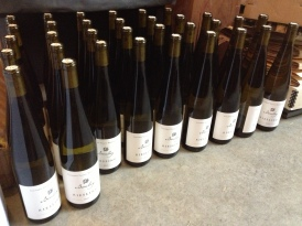 Boulay Riesling with their lovely letterpress labels!