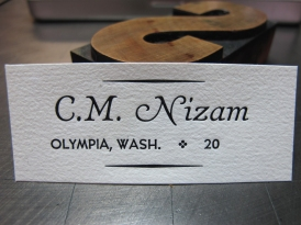 Violin labels!