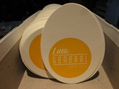 Sweet cards printed for Little General Food Store!