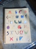 Seaside Alphabet Notebook perk!